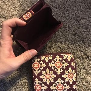 Two Vera Bradley Wallets